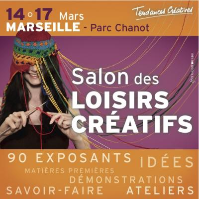 Tendances cr atives le salon des arts cr atifs for Salon marseille parc chanot