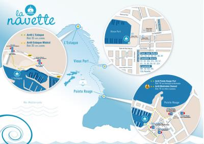 La navette vieux port estaque reprendra du service samedi - Navette aeroport marseille vieux port ...