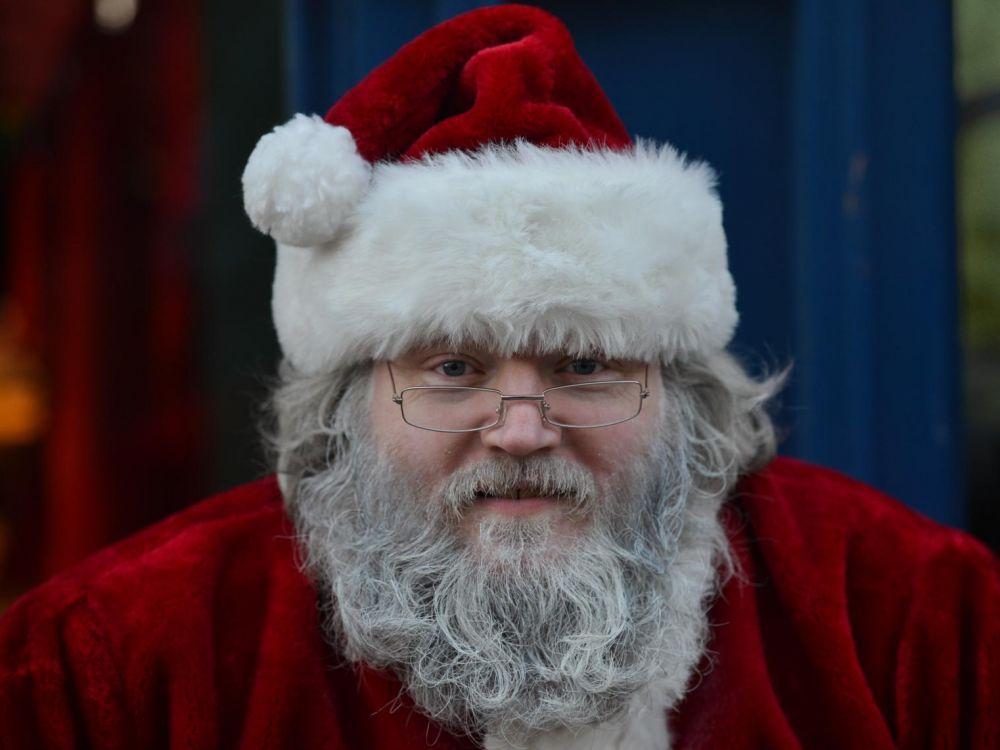 Un père Noël irlandais © Artur Widak NurPhoto AFP